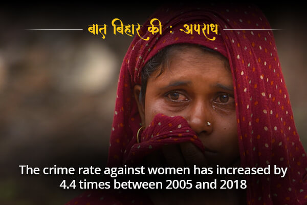 Crime rate against women is increasing-  Baat Bihar Ki