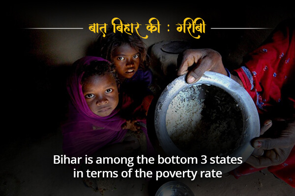 Bihar is among the poorest states - Baat Bihar Ki
