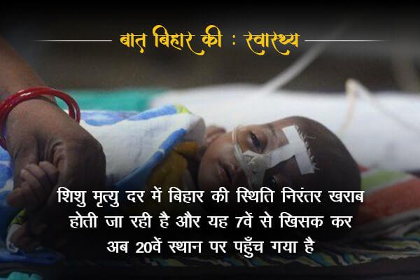 IMR scan probability is worsening in Bihar-Baat Bihar Ki